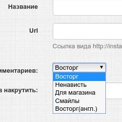 Новая категория на онлайн бирже like4u.ru комментарии инстаграм