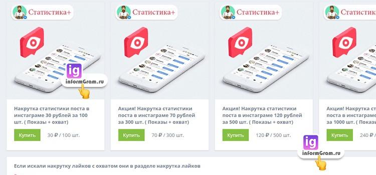 hypelike.ru с охватом